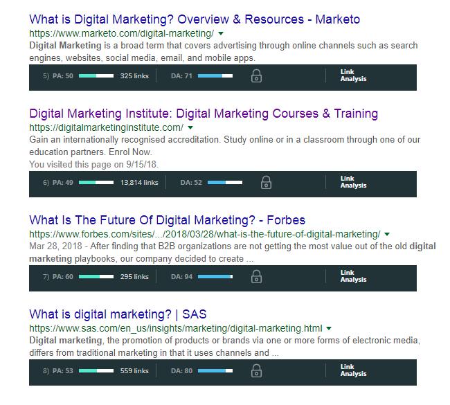 mozbar-seo-tutorial-course-digital-marketing-keywords-domain-authority-pouya-eti