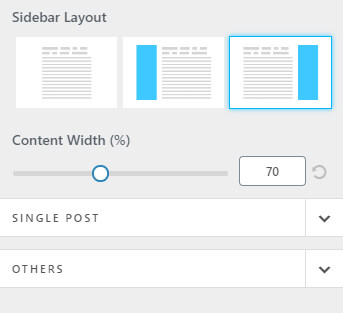 layout sidebar wordpress pouya eti