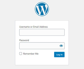 wordpress admin login page by pouya eti