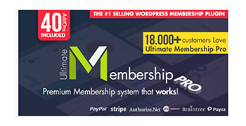 Ultimate Membership Pro plugin wordpress - pouya eti