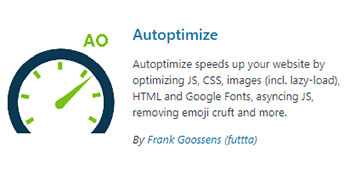 autoptimize plugin wordpress - pouya eti