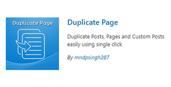 duplicate pageplugin wordpress - pouya eti
