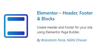 elementor header footer plugin wordpress - pouya eti