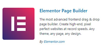 elementor plugin wordpress - pouya eti