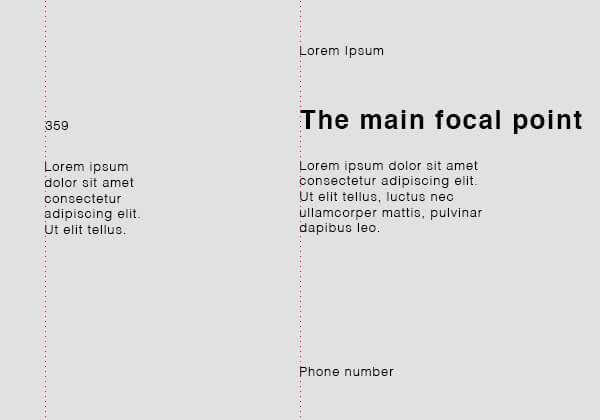 equal grid 1 - Typography Rules Marketing - pouya eti