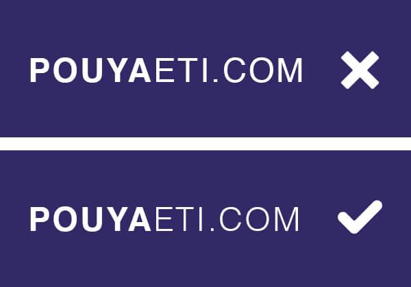 weight 2 - Typography Rules Marketing - pouya eti